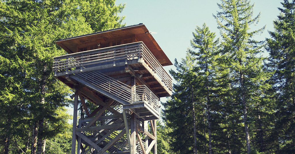 Tillamook Forest Center - Look-Out Tower