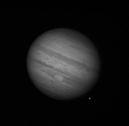 Jupiter and Europa 2011-09-02_02-59-52 by Mick Hyde