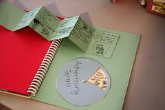 advertising notebook