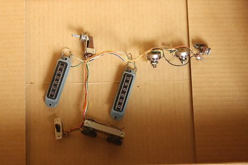Electronics harness