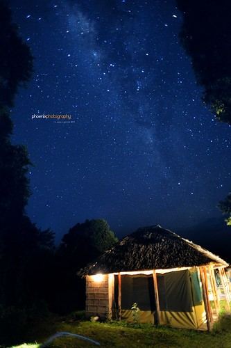 Milky way in masai mara 【explored again:)】