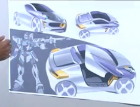 Renault WIND design sketch