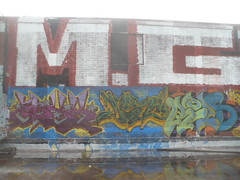 ERYX, NORE & RELS (Billy Danze.) Tags: chicago abandoned graffiti nore cmk eryx rels