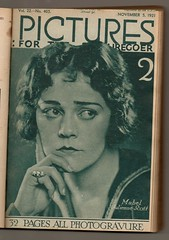 Pictures : For the Picturegoer  1921 (Pagan555) Tags: film hollywood movies thetwenties moviestars fanmags filmstars moviemagazines the20s filmmagazines mabeljuliennescott picturesforthepicturegoer