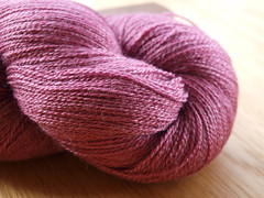 Scrumptious lace by Fyberspates - Rose Pink