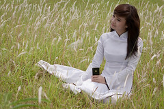 Ms. Ha -0855 (hetv) Tags: girl song hong viet hanoi nam bai gai aodai moba giua chandung