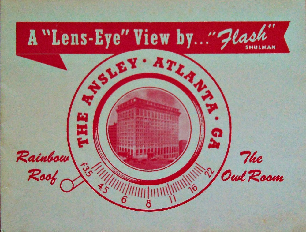 Front Cover Mystery Ansley Hotel, Atlanta Photograph