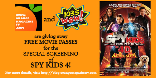 Spy Kids 4 Promo winners