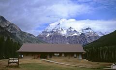 Mount Robson, Canadian Rockies (Non Paratus) Tags: canada mountains film britishcolumbia slide transparency scanned mountrobson mountrobsonprovincialpark canadianrockies canoneosrebelk2