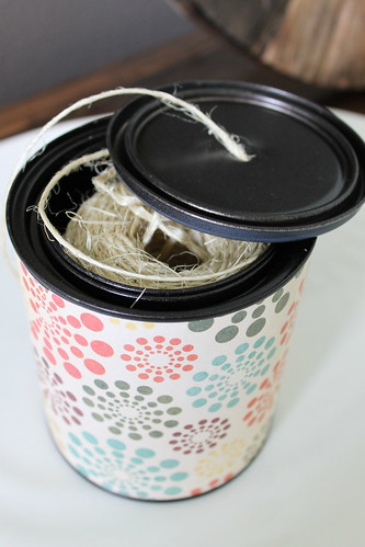 DIY Twine Dispenser