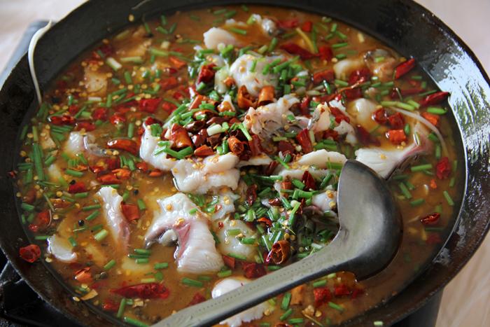 Chinese Sichuan Fish Pot