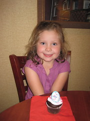 Abby celebrating her 6th birthday in lodging by pshow242