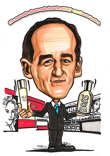 Caricature for P&G 15072011