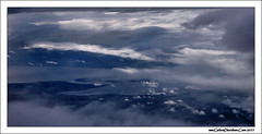 Between the clouds (ccgd) Tags: scotland highlands saab intheair 340 loganair flybe