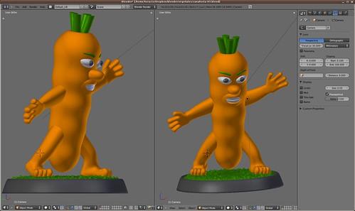 ¿Y ahora una zanahoria ?