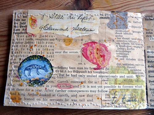 Mini Collage Book Sun & Moon 3