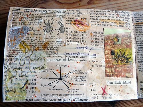 Mini Collage Book Sun & Moon 4