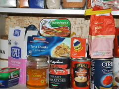 Cupboard contents