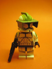 Lock (-[STORM]-) Tags: from light white trooper green star lego lock company captain wars horn custom clone commander