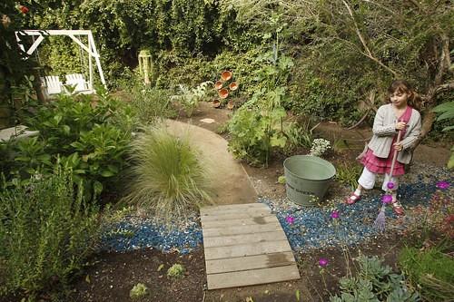 kid friendly garden alpha street permaculture
