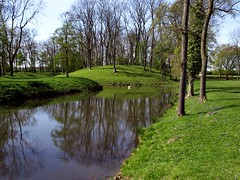 Lyvdene Reflections (saxonfenken) Tags: lake reflection water pond waterreflection 146 gamewinner thechallengefactory rape22nd pregamewinner treeslyvdene 146rivers
