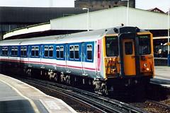 455827 Clapham Junction 37.00 (jonf45 - 2.5 million views-Thank you) Tags: electric br rail railway trains junction class southern multiple emu british network southeast clapham 3rd unit nse 455 5827 455827