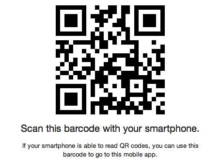 The Zennie62 Mobile App Barcode by zennie62