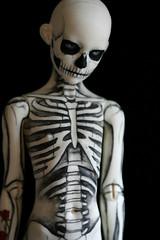 skeleton boy (Kittytoes) Tags: skeleton skull mono tattoos bones bjd anatomical commissions limhwa melancholykitties limho