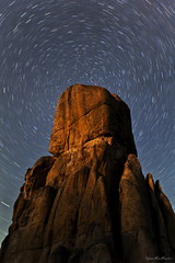 Rock of Ages (Dylan MacMaster) Tags: night stars idaho nightscapes castlerocks