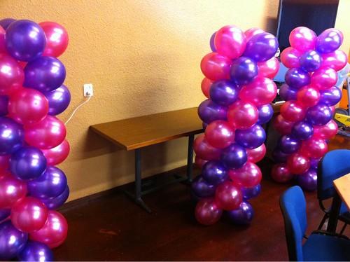 Ballonpilaar Breed zonder Topballon