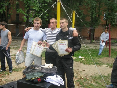 Отчёт о встрече Street Workout в Чернигове