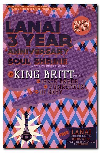 Lanai 3-Year Anniversary Party