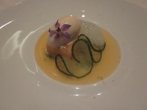 Guy Savoy - Las Vegas - August 2011 - Cantaloupe and Cucumber