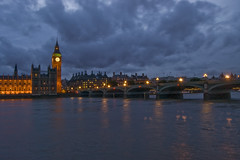 Big Ben at night (LunarKate) Tags: life road street city uk travel bridge blue houses windows light sunset england sky holiday reflection building london tower clock tourism water westminster thames architecture night clouds buildings river photography lights town big nikon europe cityscape elizabeth exterior view nightshot ben britain streetlamps united famous capital great gothic central victorian royal housesofparliament bank kingdom parliament palace tourist tourists september clocktower lamppost hour gb british lamps dslr streetscape middlesex attraction nightfall palaceofwestminster revival 2011 d40 elizabethtower