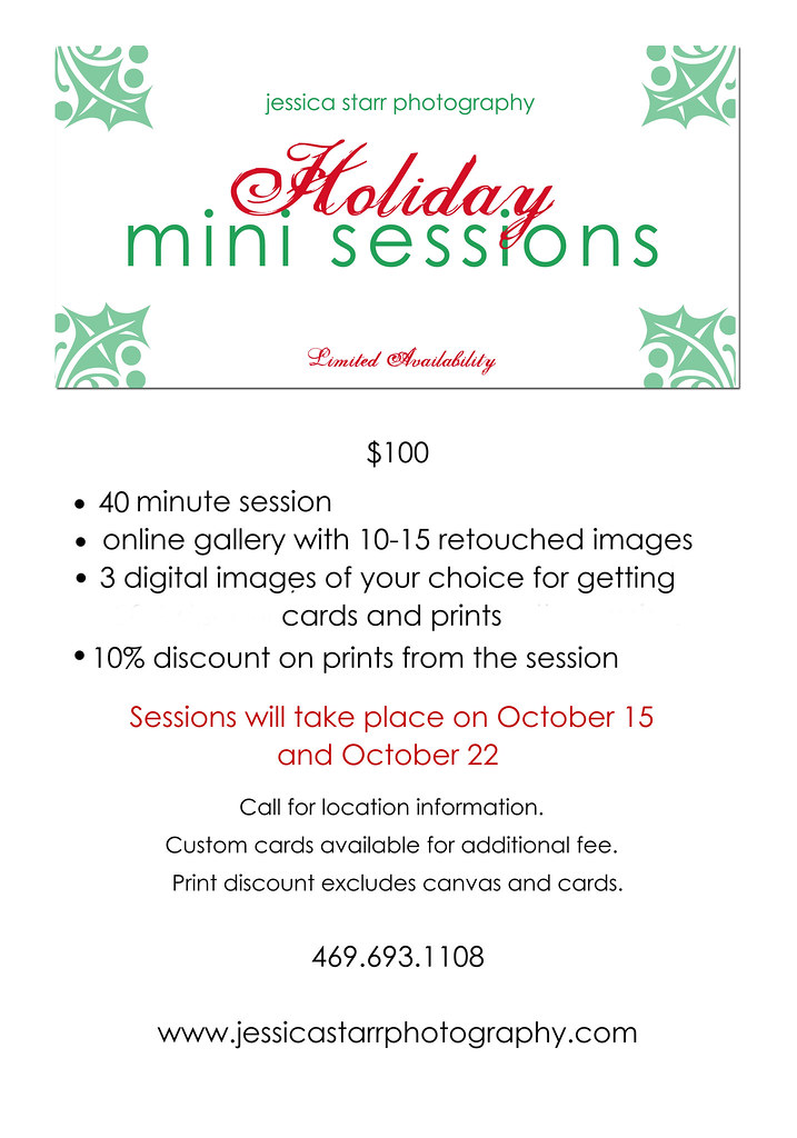 holiday minis 2011