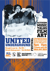 Ctrl.Alt.Shift United Underground - Flyer Front (fourteenten) Tags: southbankcentre ctrlaltshift unitedunderground