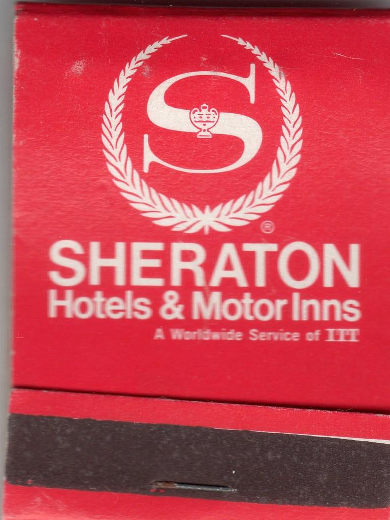 Book of matches from Sheraton Hotel, Winnipeg, 1969