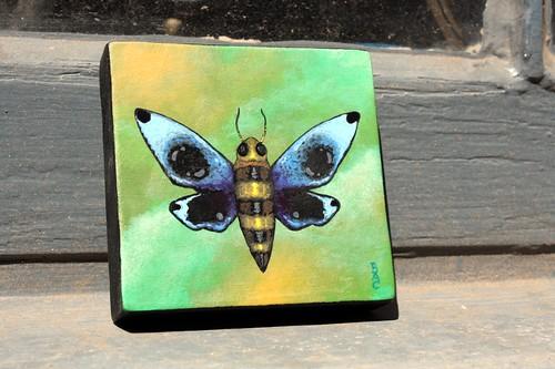 Moth Painting
