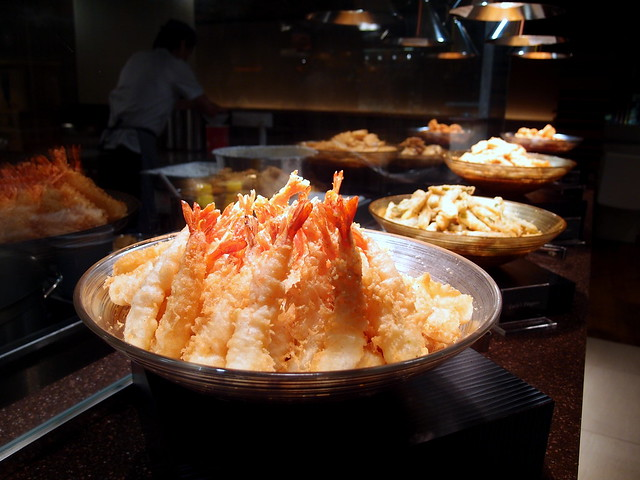 Buffet Town Japanese Tempura Selection