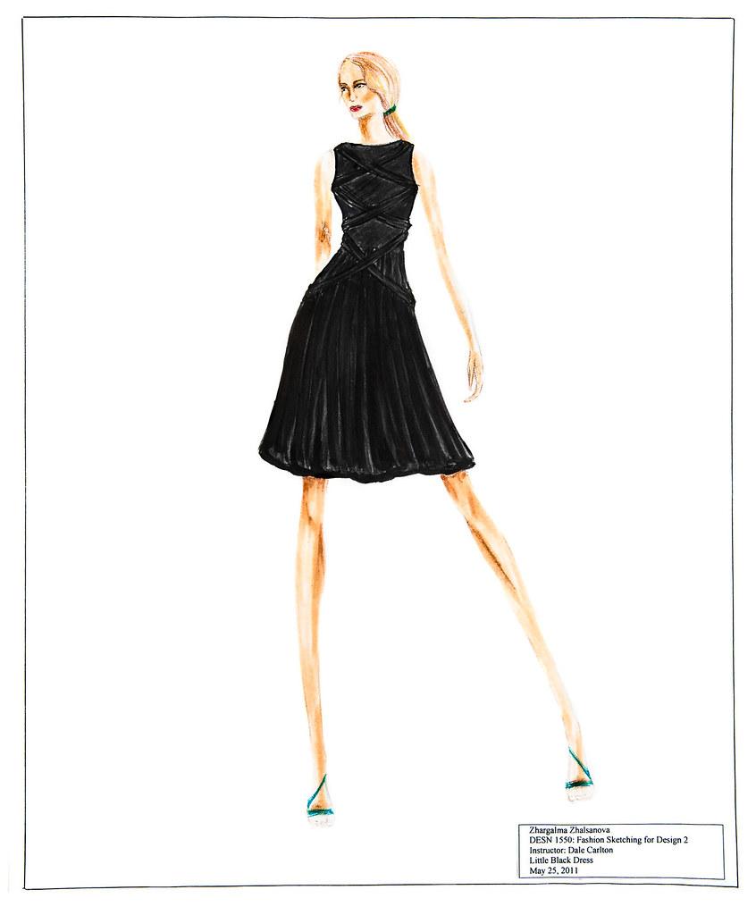 Designer Fashion Sketches