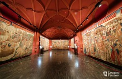 Museo de Tapices de la catedral de San Salvador de Zaragoza (Zaragoza Turismo) Tags: museum zaragoza wallpapers tapestry museos fondosdeescritorio tapices