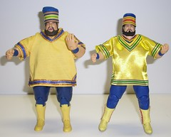 Akeems (Infinite Hollywood) Tags: legends 1980s mattel wwe wwf bigbossman onemangang akeem prowrestlng
