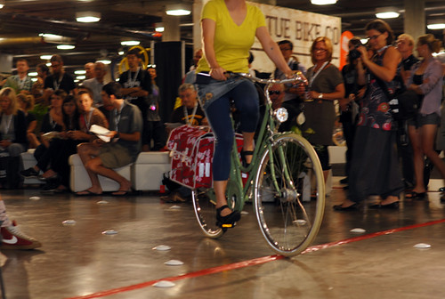 Interbike Fashion Show, Bella Ciao Superba, Basil Pannier