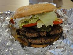 Five Guys - Regular Hamburger