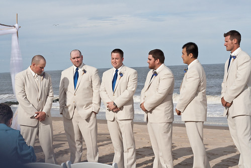 Groomsmen in Wait
