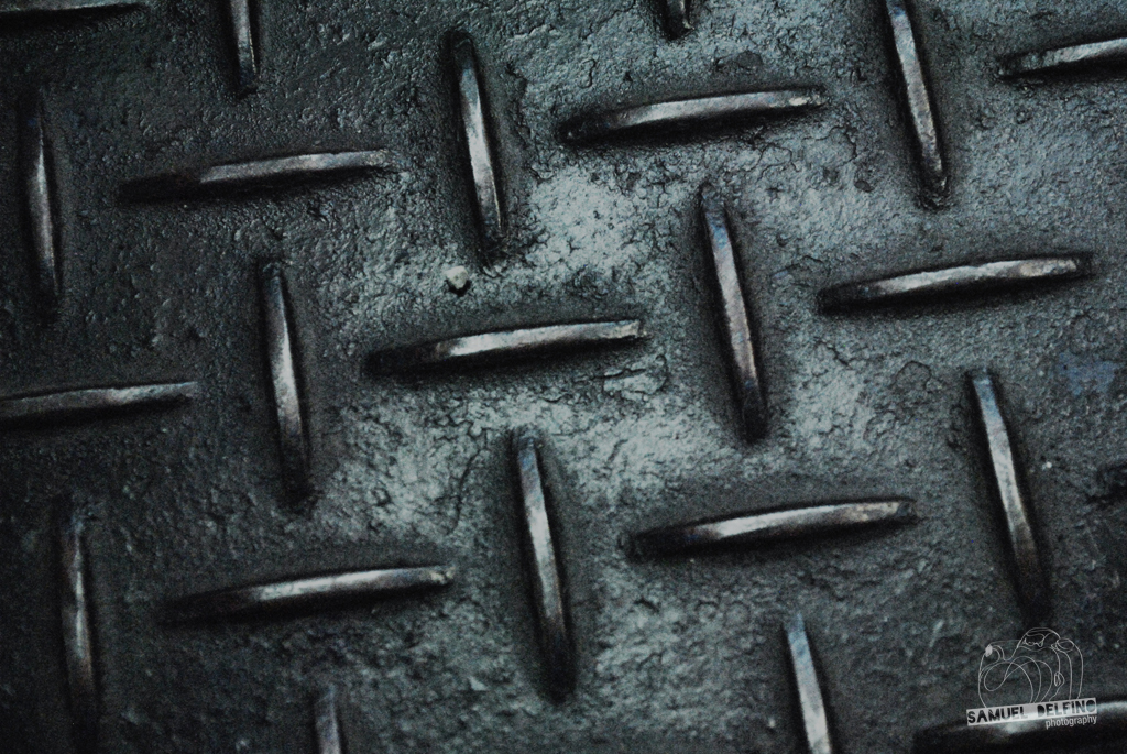 Steel floor texture!