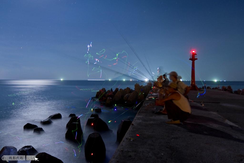 烏石港堤防夜拍 038
