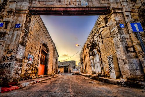 Jaffa Streets HDR