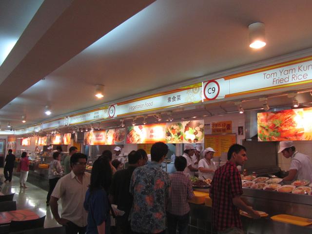 Vegetarian Food at MBK Shopping Mall in Bangkok, Thailand
