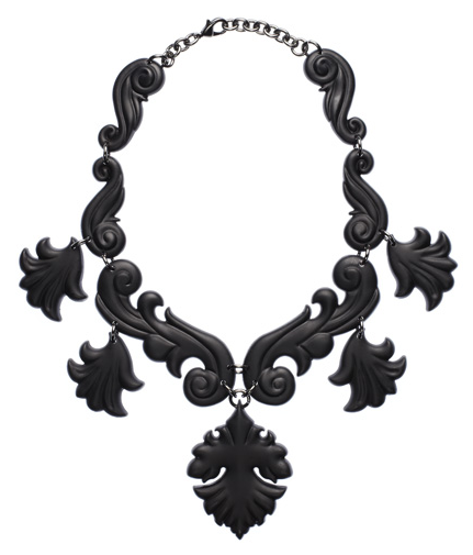 Proenza Schouler Scroll Necklace